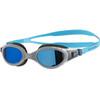 speedo Futura Biofuse Flexiseal Mirror uimalasit , harmaa/sininen